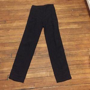 Loewe Linen High-Waisted Luxury Pants